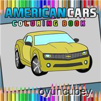 AmericanCarsColoringBook