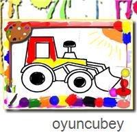 Araba Boyama Oyunu Boyama Sayfasi