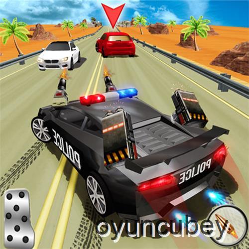 Polizei Rennen Spiele